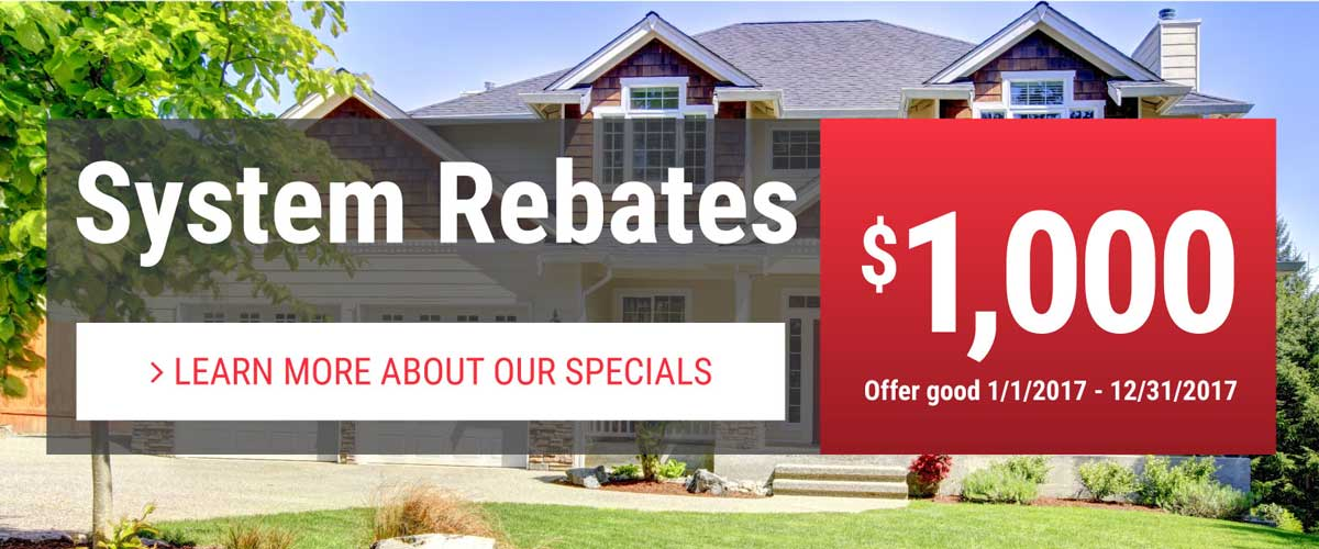 See how much you can save with local rebates!