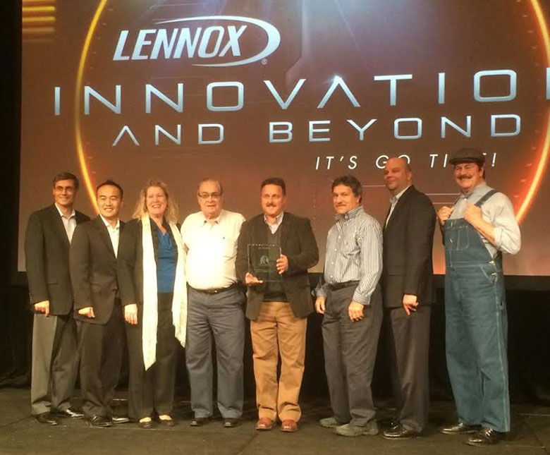 Central Air Systems is an Award Winning Lennox Dealer
